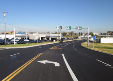 S.R. 4 and South Gilmore Road-Holden Blvd. Sustainable Intersection Improvements (Greenroads Certified)