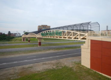 Wright State Way Pedestrian Bridge over Interstate 675
