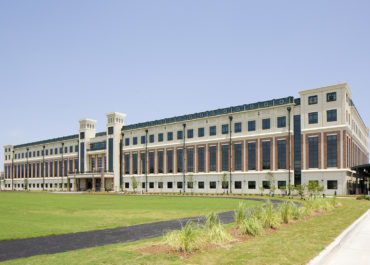 Marine Reserve Center, structural design by LJB