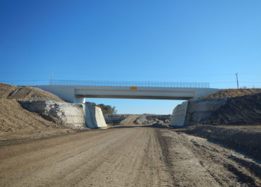 State Route 235 over Cemex Haul Road Underpass Bridge