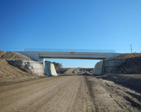 LJB SR235 Bridge Underpass