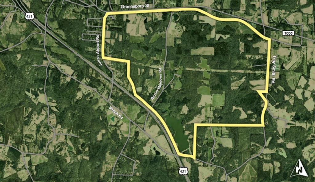 LJB-Greensboro-Randolph-Megasite2_Prop Boundaries-w