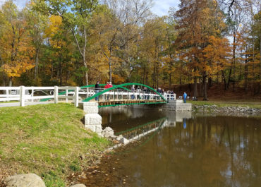 Zenas King Historic Truss Bridge Rehabilitation in Tawawa Park