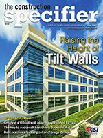 Cover of June 2019 issue of Construction Specifier magazine